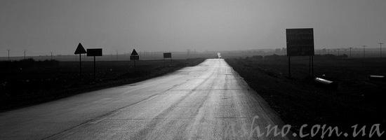 Призрак женщины на дороге