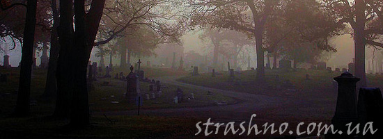 Фотография на кладбище