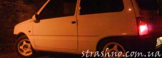 Погоня ведьмы за машиной ночью