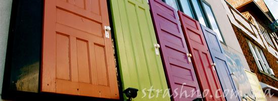 Симпатичные межкомнатные двери