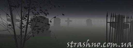 Придуманная детская страшилка о кладбище