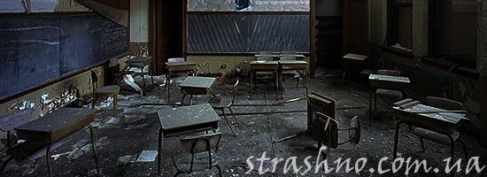Страшилка о ночевке в заброшенной школе