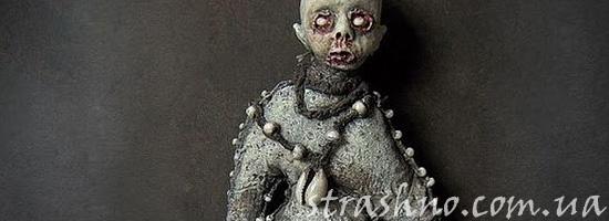 Чужая жуткая кукла