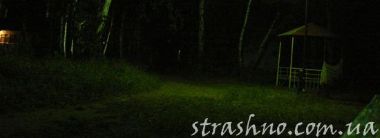 Страшные рассказы ночью в беседке