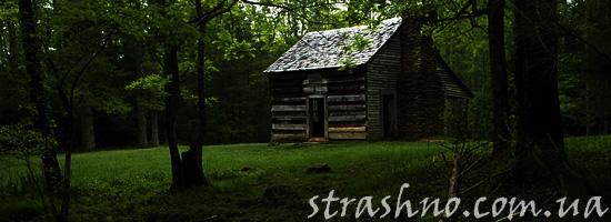 История о призраке в заброшенном лесном домике