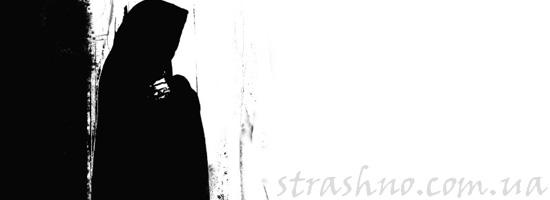 Черный монах с мистическими способностями