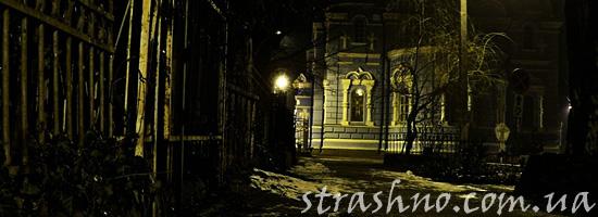 Страшная история кладбищенского сторожа