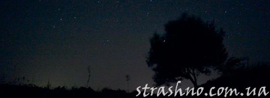 Мистика ночью в поле