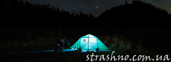 Палатка рыбаков