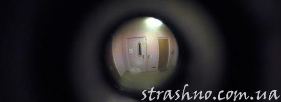Шум за дверью