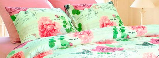 Уютный сон на новом постельном белье