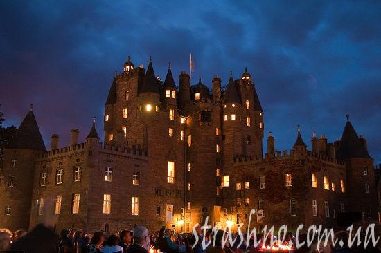 замок Гламис Шотландия