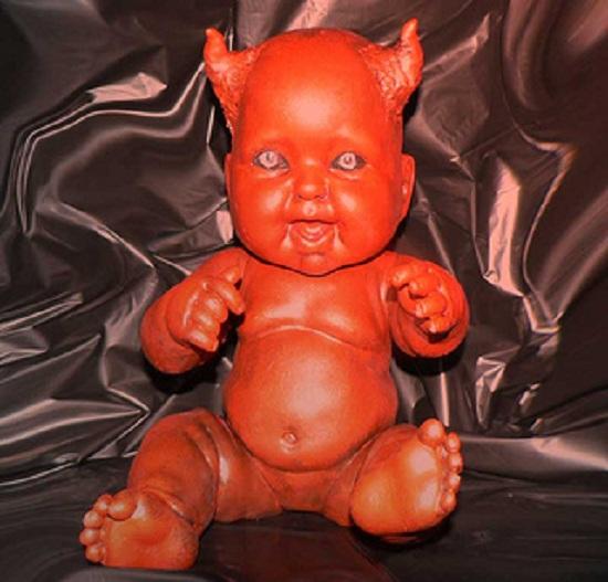 мистическая кукла дьявол