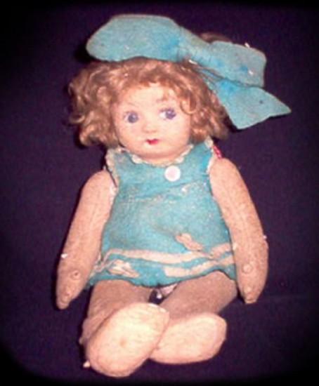 мистическая кукла пупа