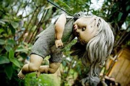 мистические куклы белые волосы