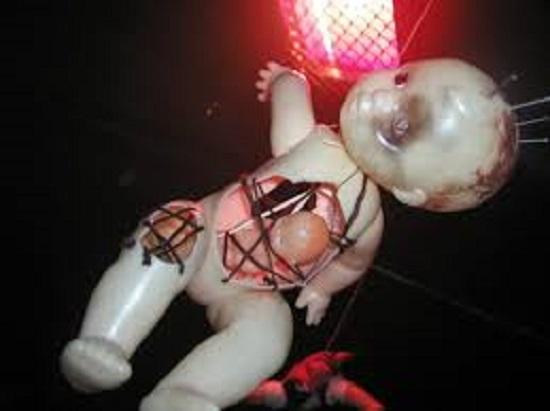 мистические куклы иголки