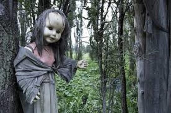 мистические куклы ведьма