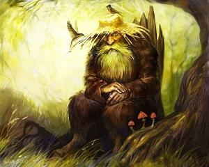 леший дух леса