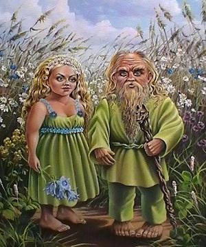 Полевик и Полуденица