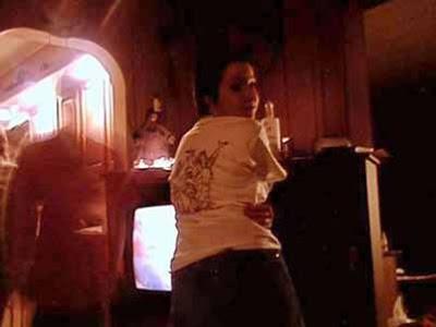 призрак у телевизора