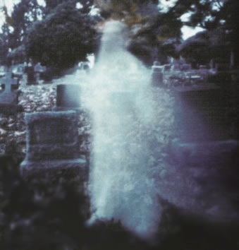 Реальный фантом на кладбище