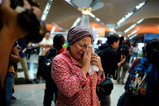 Фото сбитого малазийского Боинга 777