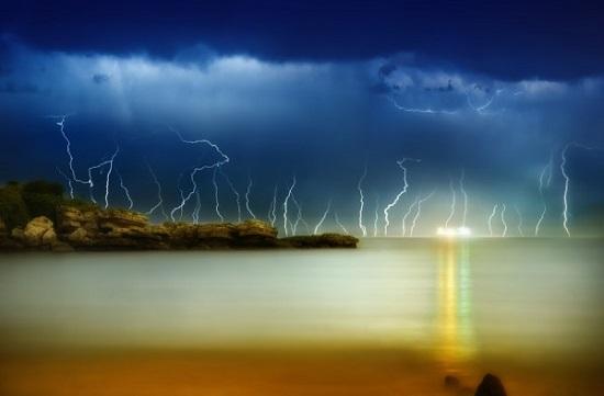 красивые молнии