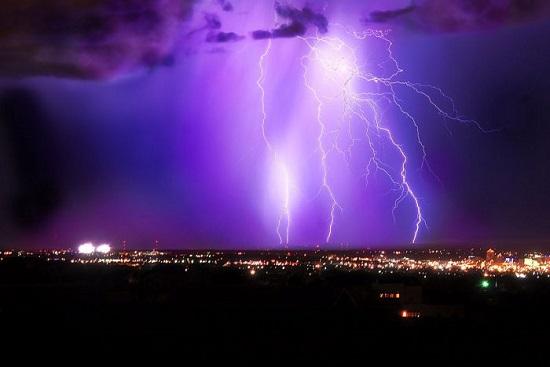 молния над Альбукерке