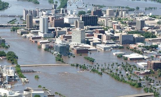 Наводнение в Айова