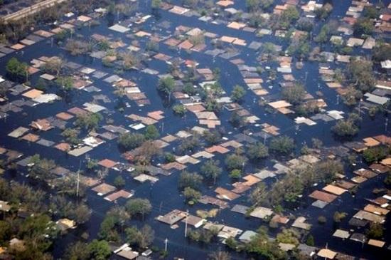 Наводнение в Новом Орлеане