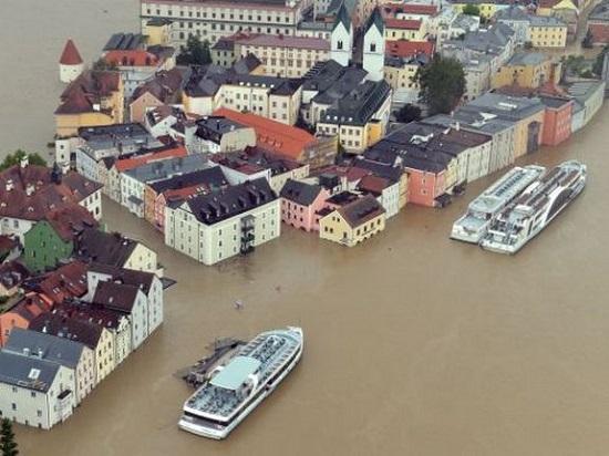 Наводнение в Германии, в бассейне реки Рейн