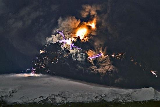 исландский вулкан