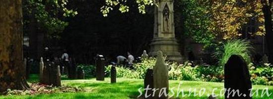мистика кладбище летом