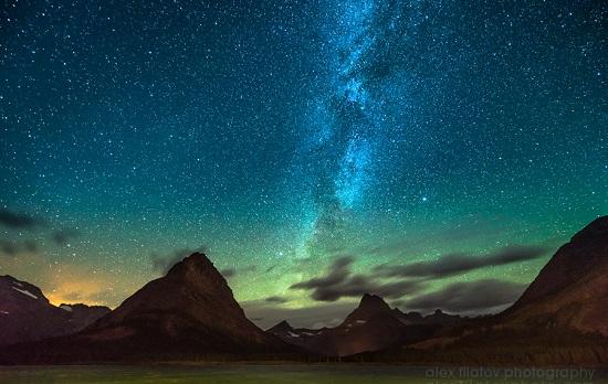 звёзды над ледником