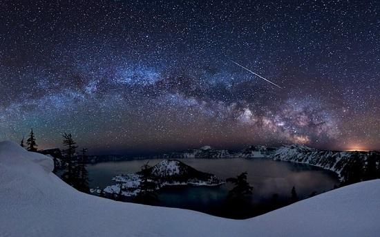 Звёзды над озером Крейтер