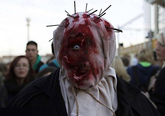 Самые страшные костюмы на Halloween (фото и видео ... - photo#30