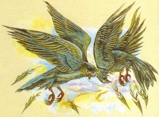 мистика стимфалийские птицы