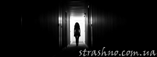 мистика силуэт в коридоре