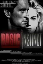 плакат к фильму основной инстинкт
