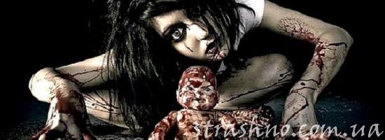 мистика мертвый ребенок в крови