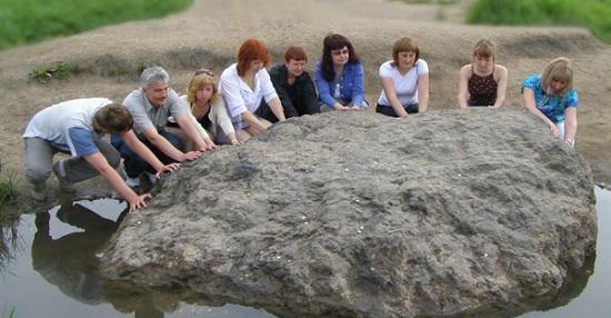 Синь-камень под Переславлем-Залесским