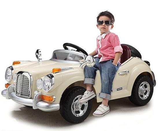 Пример детского электромобиля