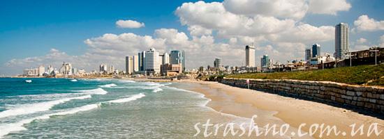 Израиль море