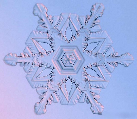 кристальная снежинка