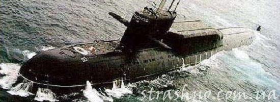 субмарина проекта 667B Мурена