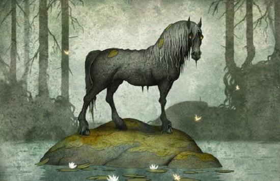 водяной конь келпи