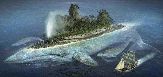 рыба-остров лингбакр