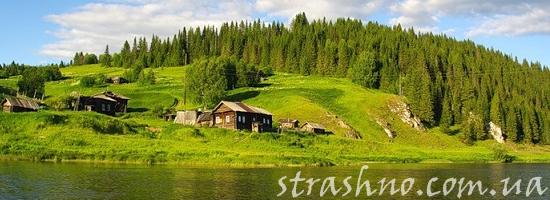 деревенская река