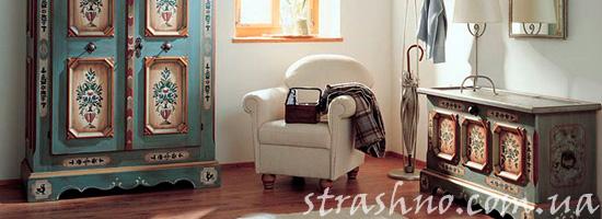 Отреставрированная винтажная мебель