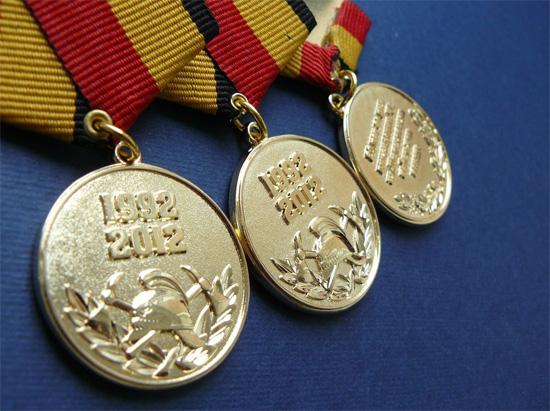 Пример изготовленных на заказ медалей